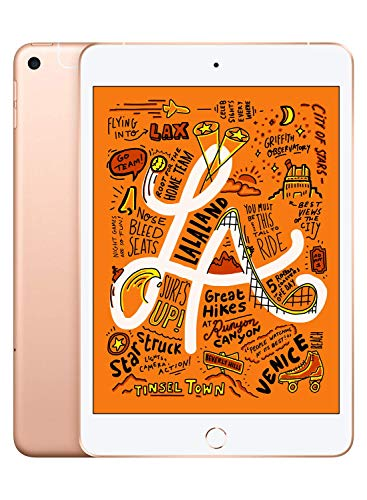 Product Image of the Apple iPad Mini (Wi-Fi + Cellular, 64GB) - Gold (Latest Model)