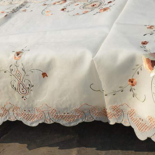 LIUQIAN Manteles Recoger la artesanía Hecha a Mano Antigua Clase de Bordado Realmente SIOU Organza de Seda manteles de Tela Grande