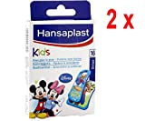 2 x Hansaplast Pflaster - Kinder Disney Mickey & Freunde - 16 Streifen