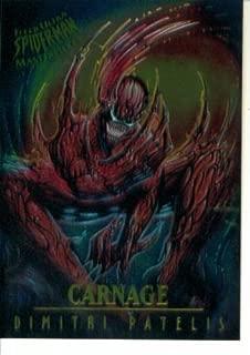 1995 Fleer Ultra Marvel Spider-Man Masterpieces Card #3 : Carnage