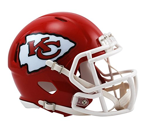 NFL Riddell Football Speed Mini Helm Kansas City Chiefs