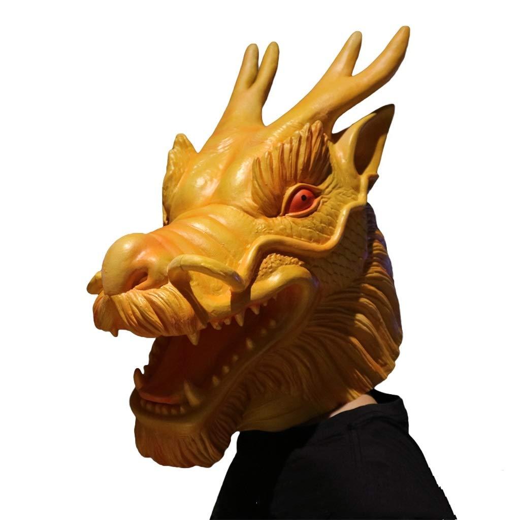 Moolo Halloween Máscara Máscara de látex con Cabeza de Animal, Los ...