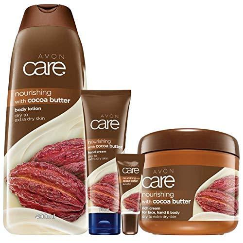 Avon Care Kakaobutter Pflegeserie 4 tlg. VanilleKakao & Vitamin E