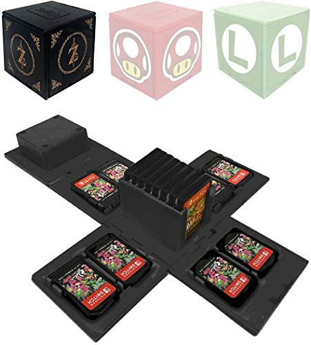 Nintendo Switch - Funda para tarjetas de memoria (16 ranuras
