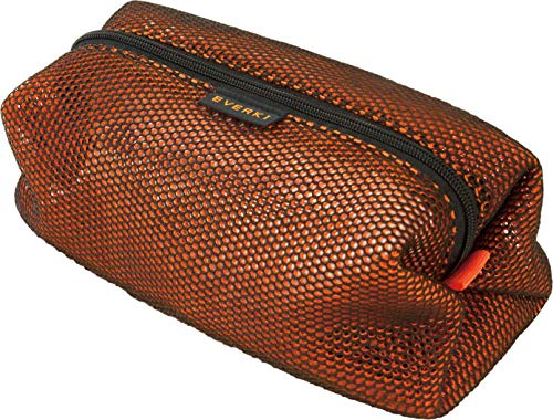 Everki Pouch - mesh accessoires laptop pouch, accessoiretas voor kabels, laders en andere accessoires, oranje zwart