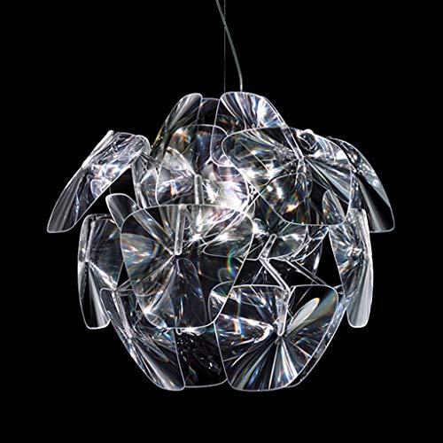 DKORP Moderna y Creativa Sombra de Techo decoración de Pantalla lámpara Colgante luz Accesorios para el hogar Personalidad Arte acrílico lámpara