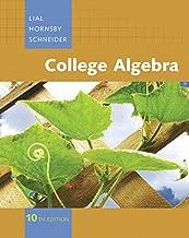 college algebra 10th edition lial hornsby schneider