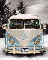 California Camper - Beach Poster - 50x40cm