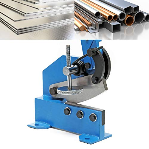Cizalla palanca manual chapa 125 mm prensa