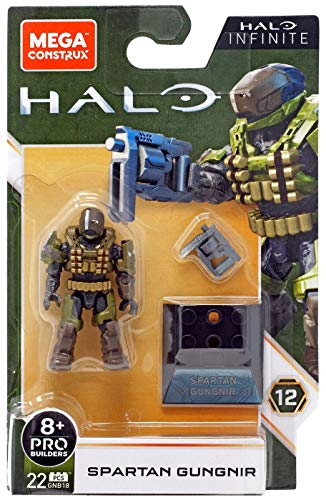 Mega Construx Halo Infinite Spartan Gungnir Minifigu