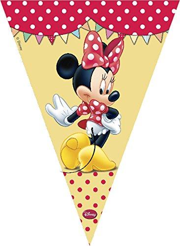 2,3 m café Disney Minnie Mouse vlaggetjesslinger banner