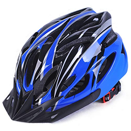 Casco de bicicleta ligero, bicicleta de montaña para hombres y mujeres Casco de ciclismo de montaña, transpirable y cómodo aerodinámico
