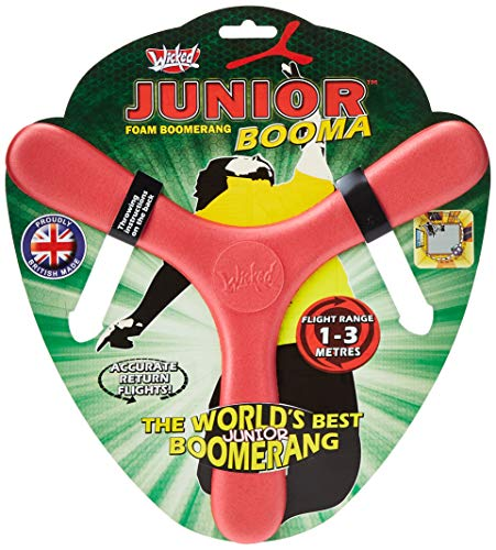 Jumbo 18282 - Boomerangs Wicked Booma Junior Boomerang 1-3 m, Mehrfarbig