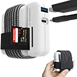 Elevation Hub with 6ft USB-C Cable - MacBook Charger Cord Management, Adds a SD Card Reader, USB-A 3.0, USB-C 3.1 Pass Through Power