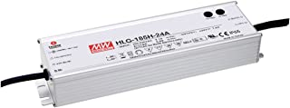 MEAN WELL LED Driver Single Output Switching Power Supply 54 Volts @ 3.45 Amps 27 - 54 Volts Model A, 185W - HLG-185H-54A