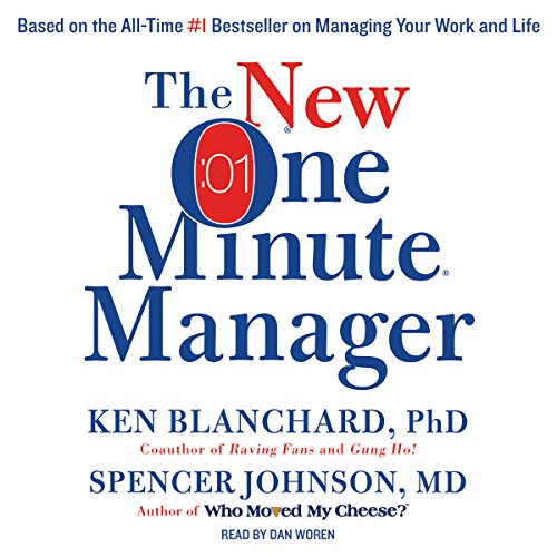 The New One Minute Manager audiobook cover art
