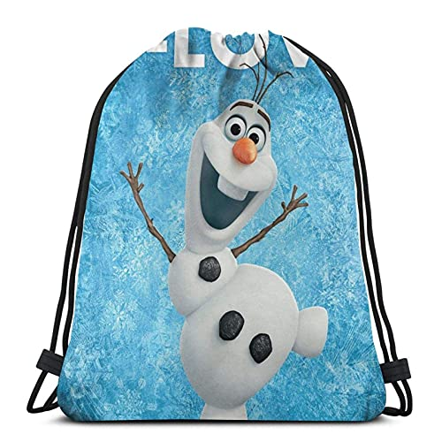 Bolsa de Deporte Gym Sack Frozen (33) Mochila con cordón Ajustable Cinch Pack
