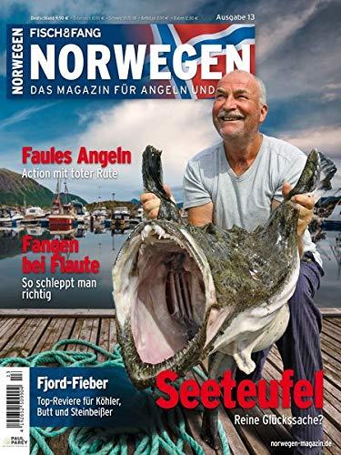Norwegen-Magazin 13 + DVD: Das Magazin für Angeln und Meer (Norwegen Magazin: Das Magazin für Angeln und Meer)