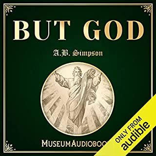 But God audiobook cover art
