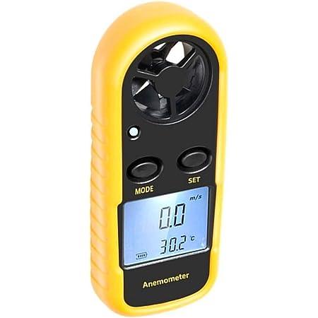 YARUIFANSEN AS856 Split-Type Anemometer Wind Speed Meter Digital Tachometer LCD Backlight Air Flow Meter Temp Measure USB Data Connection