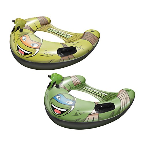 Teenage Mutant Ninja Turtles Mikey & Leo Combo Blastin Battle Boat