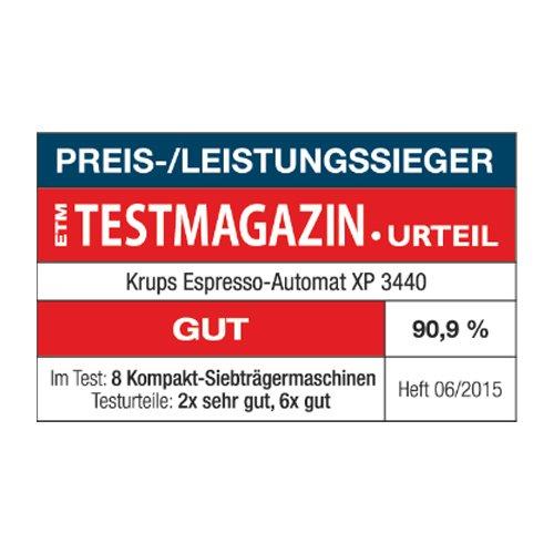 Krups XP344010 Machine à Café Calvi Pression 15 Bars...