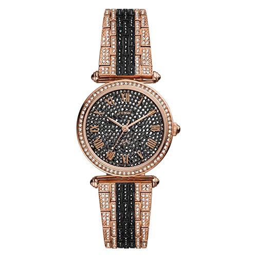 Fossil Lyric - Reloj de Acero Inoxidable de Tres Tonos y Dos Tonos de edición Limitada - LE1075