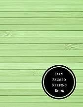 Farm Record Keeping Book: Farm Record Log