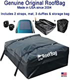 RoofBag Rooftop Cargo Carrier Bag |Made in USA |15 cu ft |Waterproof-Premium Triple Seal f...