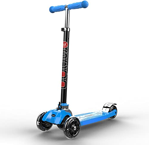 Kinder Falten Roller  Baby Scooter  Gr chen  Flash-blau