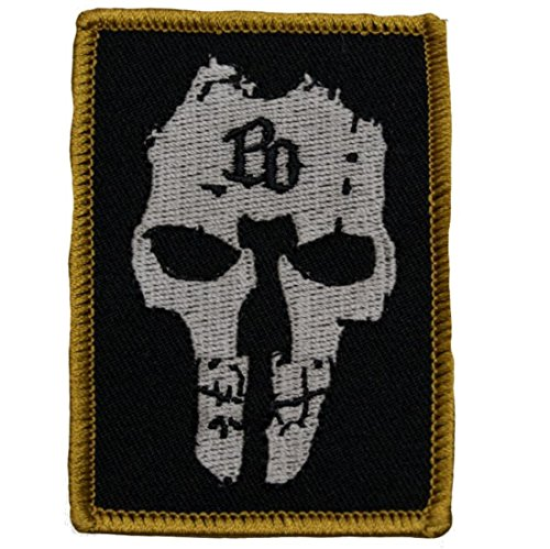 Böhse Onkelz - BO Skull Aufnäher/Patch