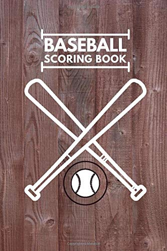 Baseball scoring Book: Professional Baseball Scoring Sheet, Score Sheet Notebook for Outdoor Games, Gifts for Game Records, Game lovers, Friends and ... with 110 Pages. (Baseball Scorebook, Band 2)