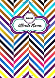 Undated Ultimate Planner Brush: 1 year undated planner in two page...