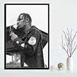yaofale Sin Marco Hot Rapper Music Star Fashion Astroworld Poster Prints Art Painting Canvas Wall Pictures For Living Room Home Decor 40x50cm