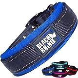 Black Rhino - The Comfort Collar Ultra Soft Neoprene Padded Dog Collar...