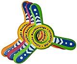 Bongo Boomerang - 3 Pack Foam Boomerangs for Kids