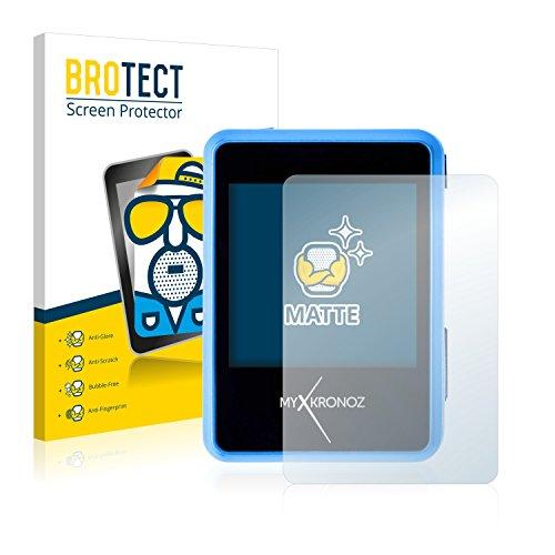 BROTECT 2X Entspiegelungs-Schutzfolie kompatibel mit MyKronoz ZeNano Bildschirmschutz-Folie Matt, Anti-Reflex, Anti-Fingerprint