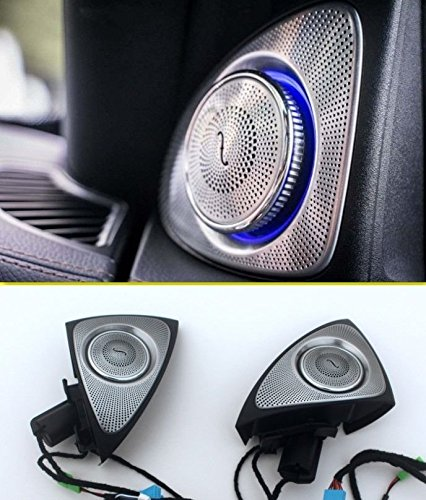Front Door Tweeter Sound Stereo Speaker Audio for Mercedes Benz S Class W222 2014-2016 Except 2door 2014 2015 2016 S320 S350 S400 S500 S600