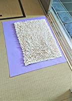 バスマット乾燥シート (除湿して乾燥します) 【巾50cm×45cm】 (バスマットの除湿防カビ、珪藻土マットは割れ防止床キズ防止効果)【各種サイズも掲載有り・品名で検索して下さい】