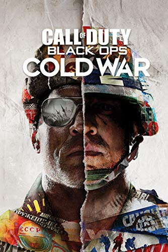 1art1 Call of Duty - Black Ops Cold War Split Poster 91 x 61 cm