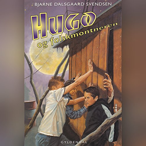 Hugo og falskmøntneren audiobook cover art
