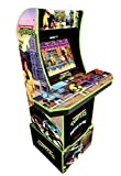Arcade1Up Teenage Mutant Ninja Turtles Arcade Machine w/ Riser