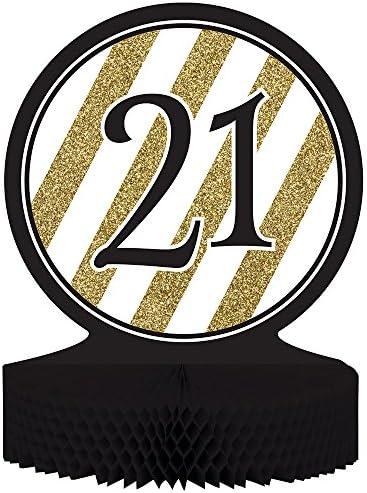 21st birthday centerpieces _image4