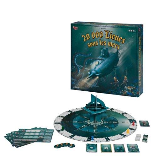 University Games - 08147 - Jeu de Plateau - Jules Verne 20000 lieues sous les mers