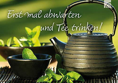 Tee-Postkarte