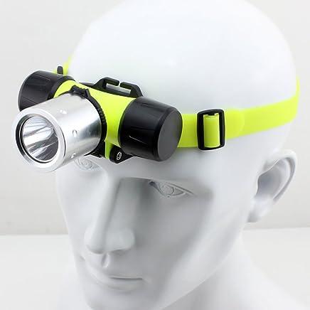 MLMHLMR LED LED LED Tauchen Scheinwerfer Blendung Wiederaufladbare Super Helle Kopf-montiert Taschenlampe Wasserdicht Taschenlampe B07KSR2J9Q     | Elegante und robuste Verpackung  490619
