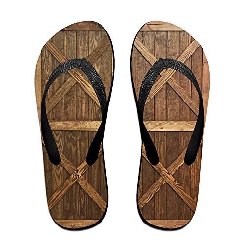 Sandalo infradito sottile unisex,Cornice di legno, Infradito per tappetino da yoga Comodo cinturino in pelle da spiaggia con suola in EVA leggera taglia L