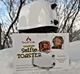 the Selfie Toaster™ w/ Smiley Face Insert- Quite Possibly the Coolest Personalized Custom Novelty Gift on Planet Earth - Great for Weddings, Home Warming Parties, Company Retirements Events, White Elephant Gifts Exchanges, and People with Everything