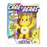 Care Bears 22054 Desbloquea Las Figuras interactivas Magic-Fun Shine Bear-Edades 4+, 3