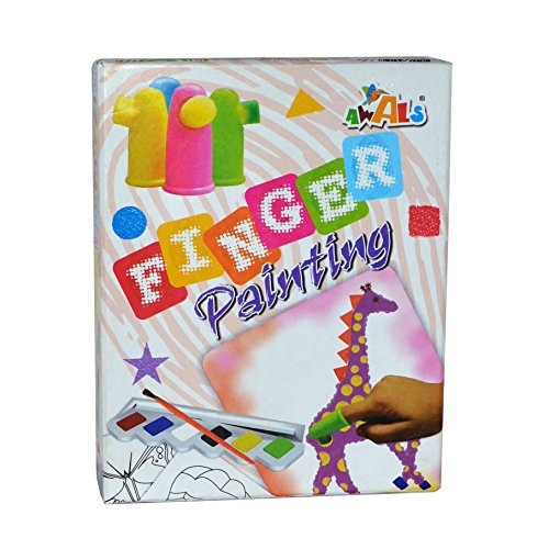 Awals Finger Painting, Multi Color
